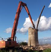 Демонтаж водонапорных башн