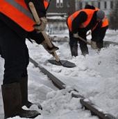 Техника для уборки снега на жд путях